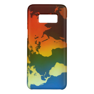 Day and night world map Case-Mate samsung galaxy s8 case