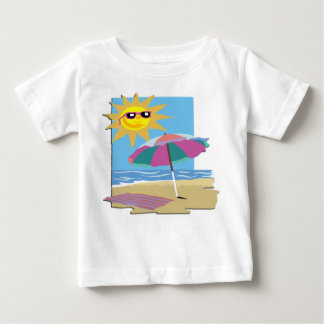 Day at The Beach Baby T-Shirt