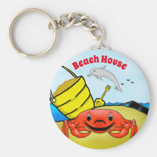 Day at the Beach Key Chain