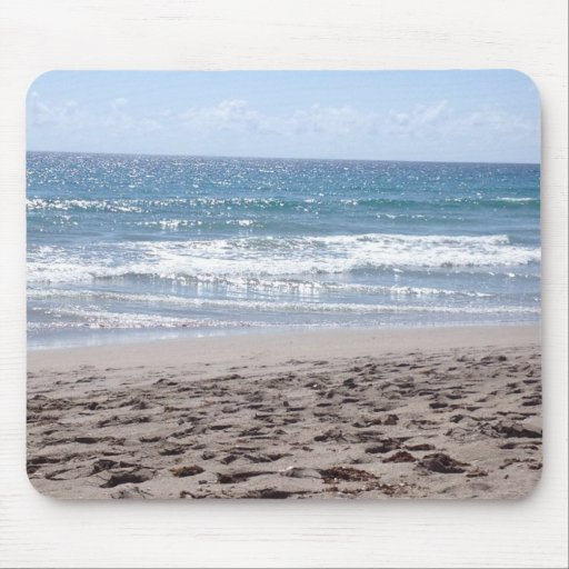 Day At The Beach Mouse Pad