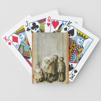 Day Before Christmas Eve Bicycle Playing Cards