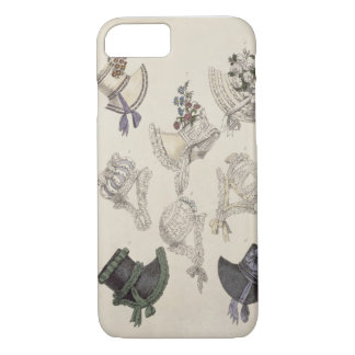 Day bonnets, fashion plate from Ackermann's Reposi iPhone 8/7 Case