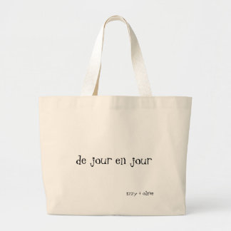 Day by Day tote bag