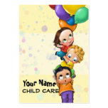 Day Care. Child Care. Babysitting. Promo card Pack Of Chubby Business Cards