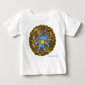 Day city cool urban graphic baby t-shirt design