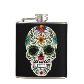 Day Dead Sugar Skull Flask