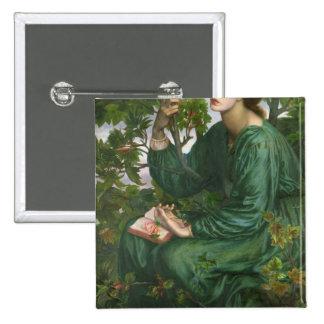 Day Dream, 1880 15 Cm Square Badge