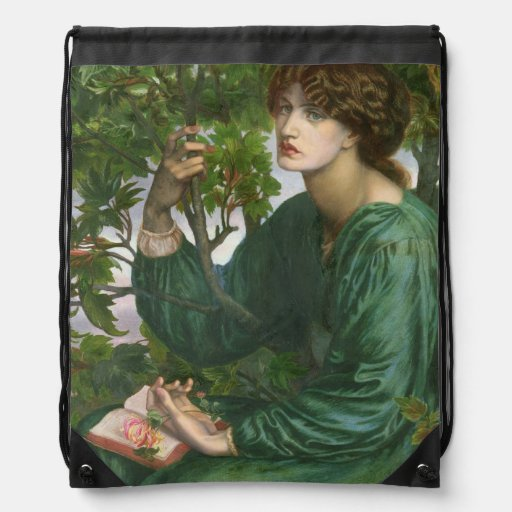 Day Dream, 1880 Drawstring Backpack