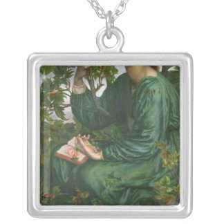 Day Dream, 1880 Silver Plated Necklace