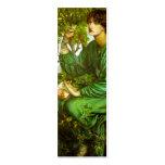 Day Dream Bookmark by Dante Gabriel Rossetti