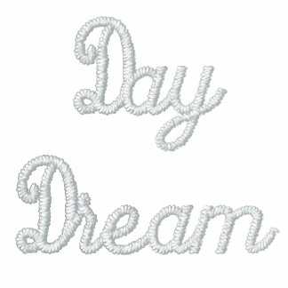 Day Dream Embroidered Hoodie