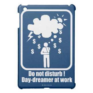 Day-dreamer at work iPad mini cases