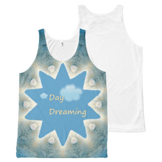 Day Dreaming. All-Over Print Tank Top