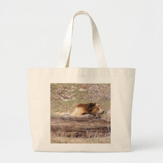 Day Dreaming Grizzly Jumbo Tote Bag