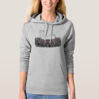 Day Dreaming Llamma - Ladies Hoodie