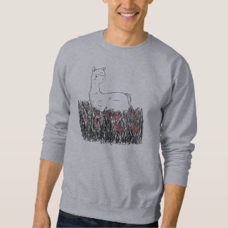 Day Dreaming Llamma Pullover Sweatshirt