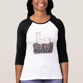Day Dreaming Llamma T Shirt