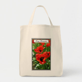 Day Dreams - Tote Grocery Tote Bag