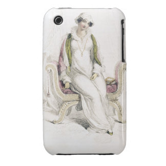 Day dress, fashion plate from Ackermann's Reposito iPhone 3 Case