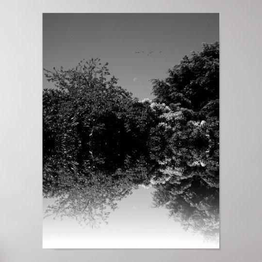 Day eclipse (sine) poster