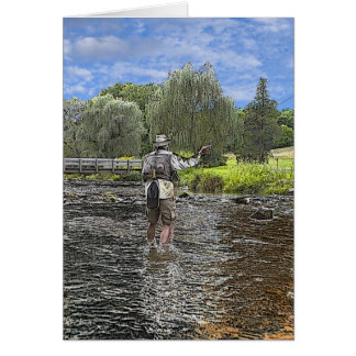 day fishing greeting cards