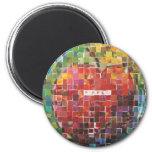 Day Four - Mosaic Fridge Magnet