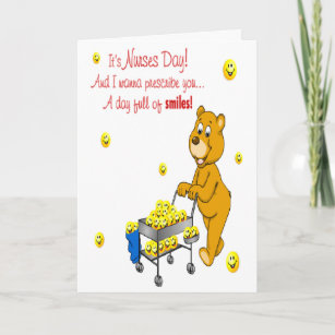 Happy nurses day cards invitations zazzle day full of smiles nurses day greeting card m4hsunfo