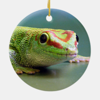 Day Gecko Christmas Ornament