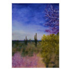 Day in the Arizona Desert Landscape Outside Poster