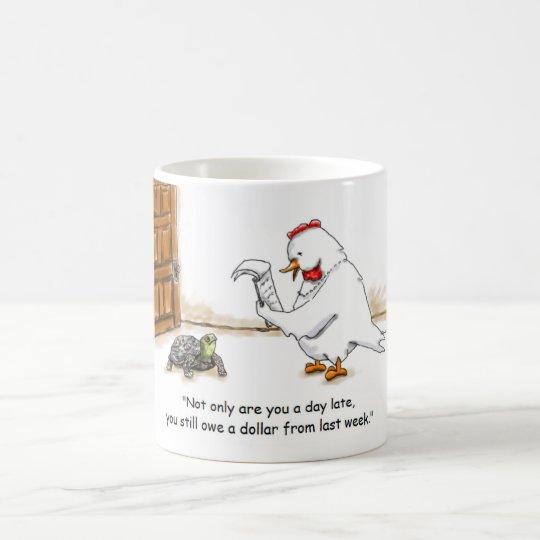 Day Late Coffee Mug