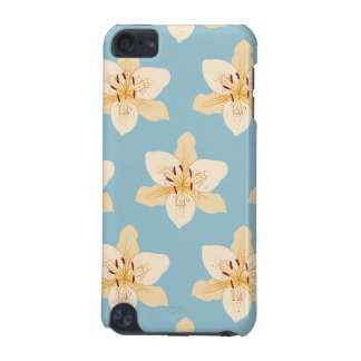 Day Lily Illustrative Lg Ptn on Light Blue iPod Touch 5G Cover