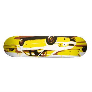Day Night Car Series. Deck One Skate Board Deck