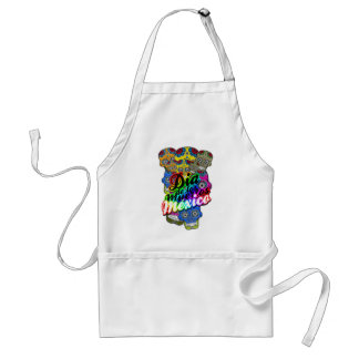 DAY OF DEAD APRON