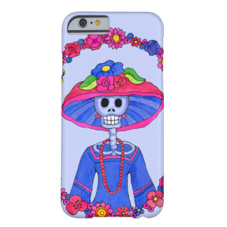 Day of Dead Catrina Adela iPhone Case
