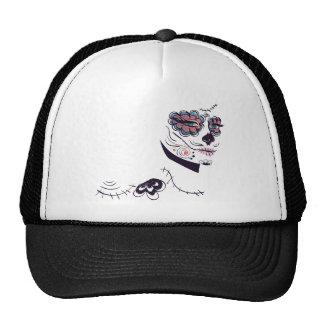 Day of Dead Girl Face6 Cap