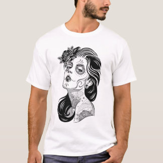 Day of dead girl Men's t-shirt