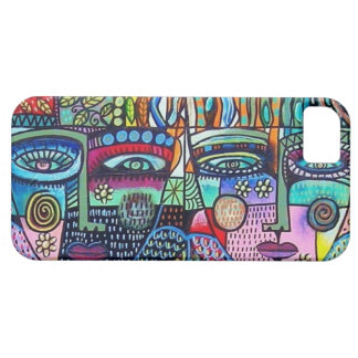 Day of  Dead-Mexican Woman Angels - iPhone iPhone 5 Covers
