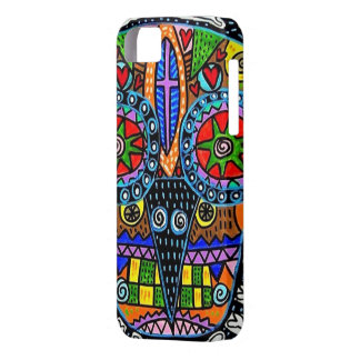 Day of Dead -Talavera Sugar Skull Owl - iPhone iPhone 5/5S Cover