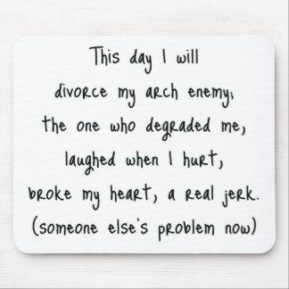 Day of Divorce Souvenir Mouse Mat