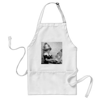 Day of Glamour Vintage Beauty Parlor New York City Standard Apron