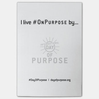 Day of Purpose Wall Post-it® Notes 4 x 6
