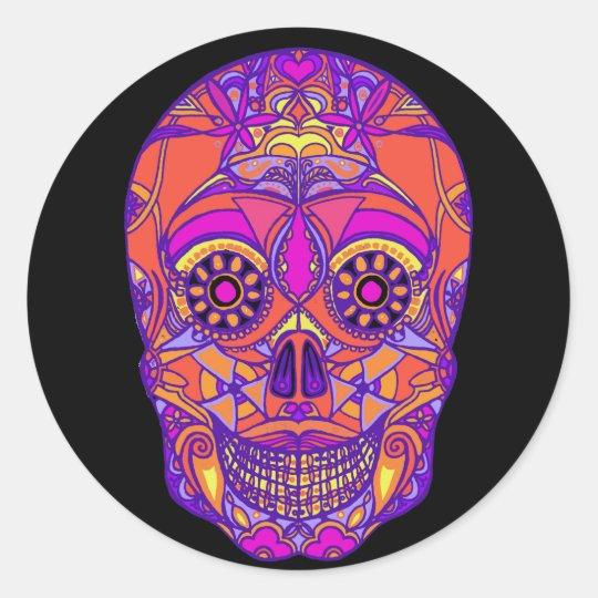 Day of the Dead 2 Round Sticker