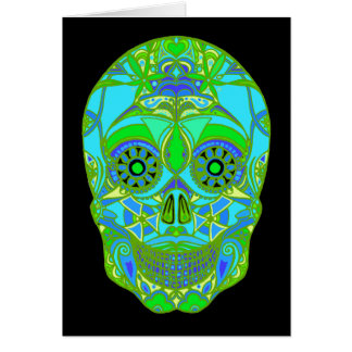 Day of the Dead 3 Greeting Card