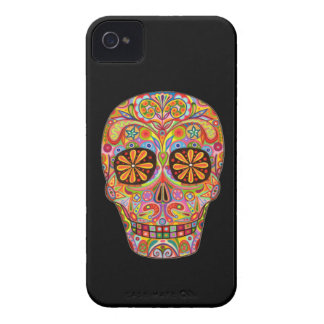 Day of the Dead Art iPhone 4/4S Barely There Case
