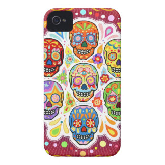 Day of the Dead Art iPhone 4 Case by Case-Mate