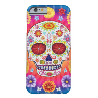 Day of the Dead Art iPhone 6 case Barely There iPhone 6 Case