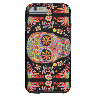Day of the Dead Art Tough iPhone 6 Case