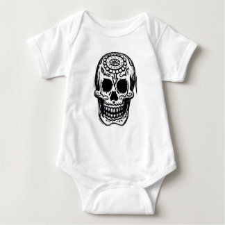 Day of the Dead Baby Bodysuit