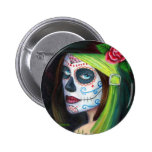 Day of the  Dead by Lori Karels Button