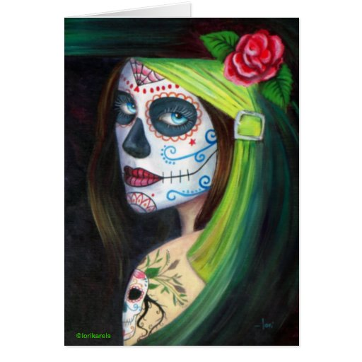 Day of the Dead by Lori Karels Card